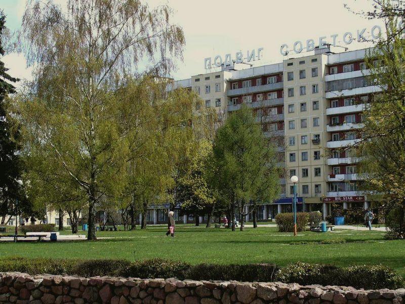 фото площадь победы витебск